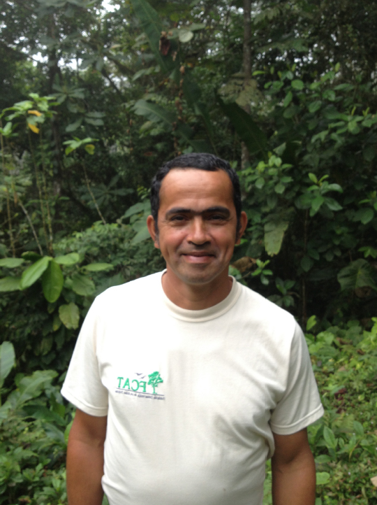 Jorge Olivo in the forest